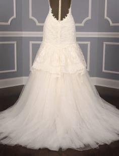 Kenneth Pool Aleshia K461 Discount Designer Wedding Dress