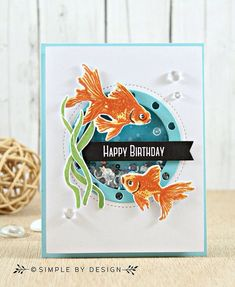 Image result for jennifer mcguire layering stamp koi