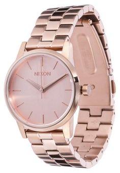 Klein, aber nicht zu unterschätzen. Nixon SMALL KENSINGTON - Uhr - roségoldfarben für 199,95 € (03.03.15) versandkostenfrei bei Zalando bestellen.