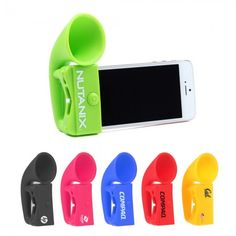 Promotional Silicone iPhone Megaphone Speaker  $1.45 - $1.88/ea