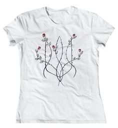 t-shirt with ukrainian symbol Tryzub https://www.facebook.com/pages/Ukrmantra-Зроблено-в-Україні/675483262519071?ref=hl