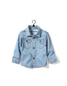 chemise en jean - Chemises - Bébé garçon (3-36 mois) - Enfants - ZARA Canada ($19.90)