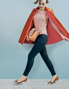 """Boden Charlotte Cape. """"Feminine collar? Check. Every seam hand-finished? Of course. Lightweight yet high-quality fabric? Absolutely. Is this THE transitional cape of the season? We'd say so."""""""