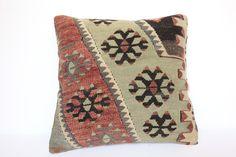 Turkish Throw Pillow, 40x40 Kelim Kissen, Vintage Aztec Pillow CoverRed Kilim Pillow 16x16, Decorative Rug Cushion, Boho Sofa Pillow, #HomeLiving #PillowCases #KilimPillow #DecorativePillows #AntiqueKilimPillow #KilimCushion #KilimPillowCover #KilimThrowPillow #VintageKilimPillow #PillowForCouch Kilim Cushions, Couch Pillows, Throw Pillows, Aztec Pillows, White Pillows, Rustic Pillows, Decorative Pillows, Oversized Pillows, Wedding Pillows