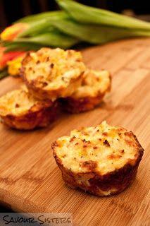 Savour Sisters: Romanoff Potato Popovers Easter Side Dishes, Potato Side Dishes, Vegetable Dishes, Vegetable Ideas, Rice Dishes, Potato Recipes, Veggie Recipes, Vegetarian Recipes, Cooking Recipes