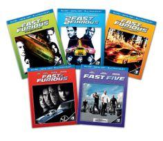 Fast & Furious: 1-5 Bundle (2013) ($43.99)