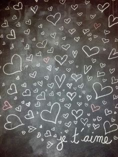 My Valentine's Day chalk wall Chalk Wall, Chalk It Up, Iphone Wallpapers, Happy Holidays, Chalkboard, Valentines Day, Backgrounds, Cool Stuff, Lifestyle