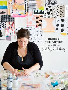 Think.Make.Share talks with Ashely Goldberg, popular for her modern pattern designs. (A blog from the Creative Studios at Hallmark.)