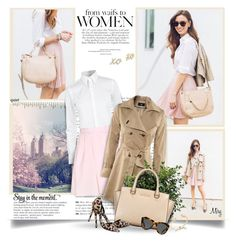 """""""Stay In The Moment"""" by thewondersoffashion ❤ liked on Polyvore featuring Andrea, Ralph Lauren, Carven, MICHAEL Michael Kors, Nly Shoes, Karen Walker and Kate Spade"""