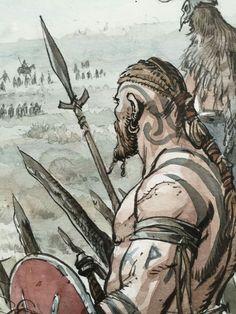 Viking Symbols, Viking Art, Norse Runes, Norse Mythology, For Honor Viking, Bd Art, Norse Tattoo, Celtic Warriors, Viking Reenactment