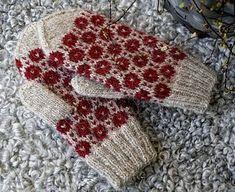 Ravelry: Brillbee-vantarna pattern by Maja Karlsson Knit Mittens, Mitten Gloves, Knitting Socks, Hand Knitting, Knitting Charts, Knitting Stitches, Knitting Patterns, Quick Knits, Knit Picks