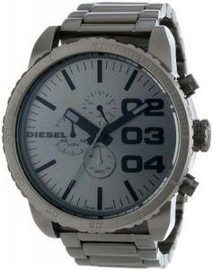 Relógio Diesel Men's DZ4215 Advanced Gunmetal Watch #Relogios #Diesel