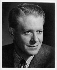 Nelson Eddy Actor Close up Press Photo