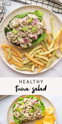 Healthy Tuna Recipes, Healthy Tuna Salad, Healthy Cooking, Lunch Recipes, Low Carb Recipes, Healthy Snacks, Vegetarian Recipes, Cooking Recipes, Eating Healthy