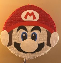 Handmade Super Mario Bros. Pinata 24 x 22 Copyright: All copyrights and trademarks of the characters used belong to their respective owners and are not being sold. This item is not a licensed product and I do not claim ownership over the characters used in the designs. Payment and