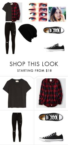 """""""Best friends outfit"""" by nuratheunicorn on Polyvore featuring American Eagle Outfitters, KBETHOS, Converse, men's fashion and menswear"""