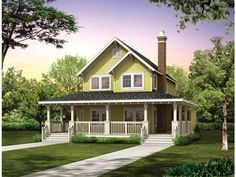 Farmhouse House Plan with 1479 Square Feet and 3 Bedrooms from Dream Home Source | House Plan Code DHSW04087