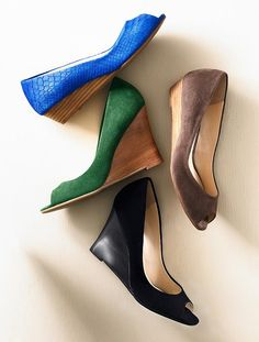 fun new Spring wedges from Talbots!!!!