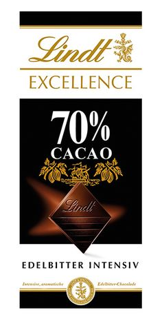 Lindt: Excellence 70%, 100g Lindt Excellence, Cocoa Butter