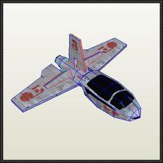 Star Wars - Pinook Fighter Free Papercraft Download - http://www.papercraftsquare.com/star-wars-pinook-fighter-free-papercraft-download.html