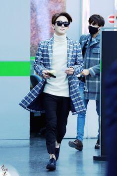 150131- EXO Chen (Kim Jongdae); Gimpo Airport to Busan Airport #exom #fashion #style