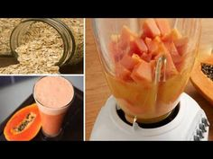 Oatmeal and Papaya Smoothie Deflates your belly and makes you lose weight Fitness Workouts, Ab Workouts, Kefir, Healthy Life, Smoothies, Good Food, Food And Drink, Lose Weight, Health Fitness