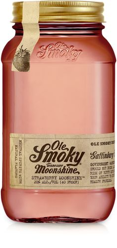 Strawberry Moonshine - Ole Smoky Tennessee Moonshine  I want to try all the flavors!