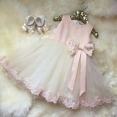 Short Flower Girl Dresses, Pink Short Mini Flower Girl Dresses, Mini Short Flower Girl Dresses, 2017 Flower Girl Dresses Bowknot Long Appliques Satin and Tulle Flower Girls, Cute Flower Girl Dresses, Little Dresses, Little Girl Dresses, Cute Dresses, Girls Dresses, Baby Dresses, Fashion Kids, Dress Anak