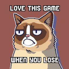 I scored 40 in Grumpy Cat's WORST-GAME-EVER #grumpycat http://smarturl.it/grumpycat