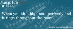 And when its also in tune. French horn problems