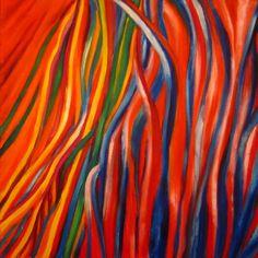 Dulce abstracción 50x50 Oil on canvas Dulce abstracción por María Palacios se encuentra bajo una Licencia Creative Commons Attribution-NonCommercial-NoDerivatives 4.0 Internacional.