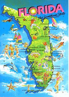mon endroit préféré à visiter est la Floride