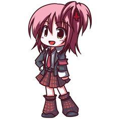 chibi fictional sister hinamori amu shugo chara ❤ liked on Polyvore featuring anime, shugo chara and chibi