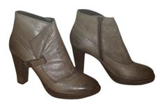 """Take the runway look home with this stunning ankle boot from Sesto Meucci. The Pryce features a luxe leather upper with a vamp guard detail and a side zip for an easier on-and-off. Beneath, a treaded rubber sole delivers traction for a graceful step, indoors and out. Leather. Rubber sole. Shaft measures approximately 5.75"""" from arch. Heel measures approximately 3.5"""" Platform measures approximately 0.5"""" Boot opening measures approximately 9.25"""" around. Made in Italy."""
