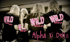 WILD for alpha xi delta | Tumblr.... ZETA CHI IS SO FAMOUS  ah! <3 my chapter.