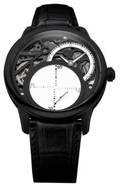 MAURICE LACROIX MASTERPIECE SECONDE MYSTÉRIEUSE #MauriceLacroix Swiss Watchmakers  #horlogerie #pontos @calibrelondon