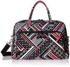 Amazon.com: Vera Bradley Weekender Bag, Alpine Floral, One Size: Vera Bradley: Shoes
