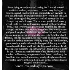 Sam Yoder, my love--- I am so very madly, deeply in love with you, as you are with me. FOREVER & ALWAYS! I Love You Quotes For Him, Soulmate Love Quotes, Love Yourself Quotes, Paragraph For Boyfriend, Love Letters To Your Boyfriend, Love Paragraphs For Him, Meaningful Quotes, Inspirational Quotes, Motivational Sayings