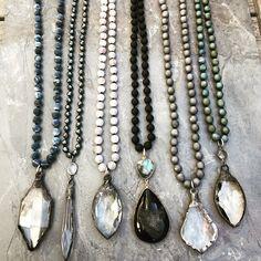 Gemstones, Beads and vintage crystals.  Lisajilljewelry@gmail.com