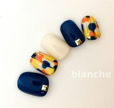 Try some of these designs and give your nails a quick makeover, gallery of unique nail art designs for any season. The best images and creative ideas for your nails. Gorgeous Nails, Love Nails, Pretty Nails, My Nails, Simple Nail Art Designs, Gel Nail Designs, Halloween Nail Designs, Halloween Nails, Japan Nail Art