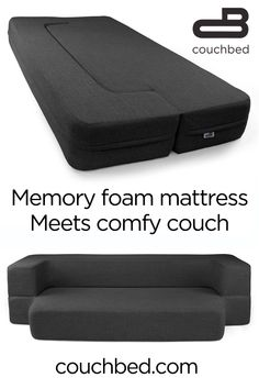 The comfort of a cool-gel memory foam mattress and the functionality of 2 pieces. - The comfort of a cool-gel memory foam mattress and the functionality of 2 pieces of furniture. Diy Interior, Interior Design, Dorm Rooms, Play Rooms, Remodeled Campers, Foam Mattress, First Home, My Room, Home Improvement