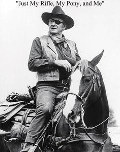 Actor John Wayne was a famous American actor who becomes the major box office hold in Hollywood history. John Wayne identified the American hero. John Wayne Quotes, John Wayne Movies, Westerns, Cowboy Up, Cowboy Western, Cowboy Town, Western Art, Actor John, True Grit