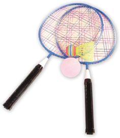 Badminton Set by Vilac Badminton Racket, Tennis Racket, Babolat Tennis, Racquet Sports, Natural Parenting, Bbq Party, Junior, Rackets