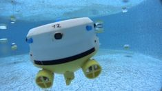 Science Swarm  The world's navies are not the only ones interested in swarms of underwater drones – scientists are too. Researchers at the University of Ganz in Austria have developed the CoCoRo swarm of more than 40 underwater bots to research how they can act together to accomplish various tasks underwater.  The autonomous drones in the CoCoRo swarm come in three different types, depending on their function, and use flashes of light to communicate.