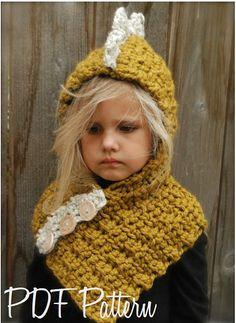 Crochet PATTERNThe Drako Dino Cowl 12/18 by Thevelvetacorn on Etsy