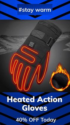 Then the Heated Action Glove is what you need!🔥🔥 3-heating modes to provide comfortable warmth💥 The heating element puts the heat where you need it most🌞 In the palm and up the fingers and thumb.✋ You feel the heat directly!🔥 40% Off Today🔥 Heated Clothing, Cold Fingers, Bra Hacks, Cycling Accessories, Cycling Gloves, Wood Candle Holders, Heating Element, Health And Wellbeing, Cool Gadgets