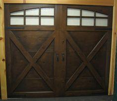 Suburban building profile use pole barn garage shop for for Wood look steel garage doors