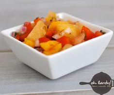 Pineapple Papaya Chutney - a delicious digestive aid - Oh Lardy!