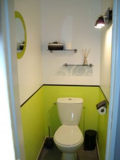 D co toilettes on pinterest papillons zen and deco for Quelle couleur pour des toilettes