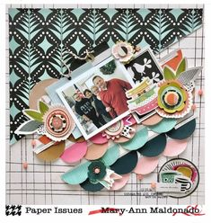 Mary-Ann here with a fun challenge for you. PUT IT ON AN ANGLE ! Creative Inspiration, Design Inspiration, Yellow Doors, Fun Challenges, Fancy Pants, Scrapbooking Layouts, Tatting, Folk, Paper